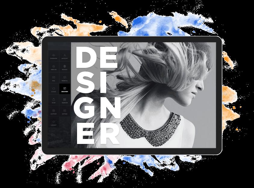 Website-Designer Artwork